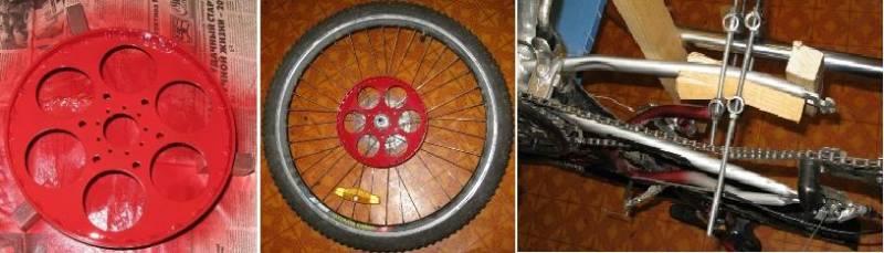 Велосипед из шуруповерта своими руками 5