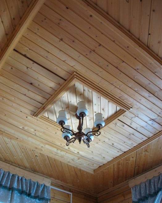 Потолок своими руками на даче