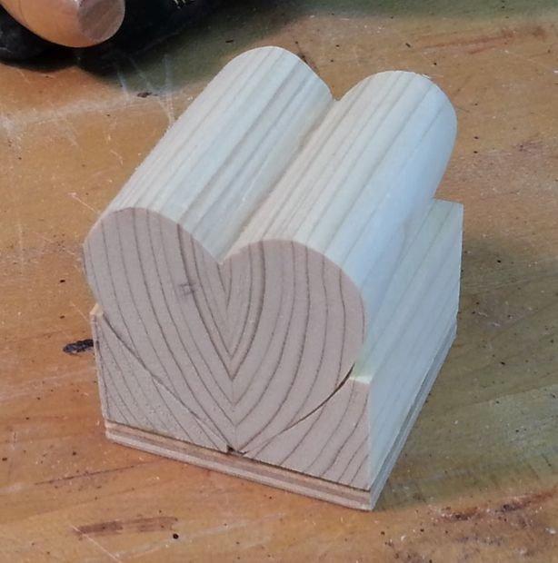 Как сделать два сердца своими руками фото 632