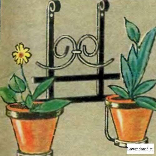 Интересные самоделПодставки под цветы своими руками фото