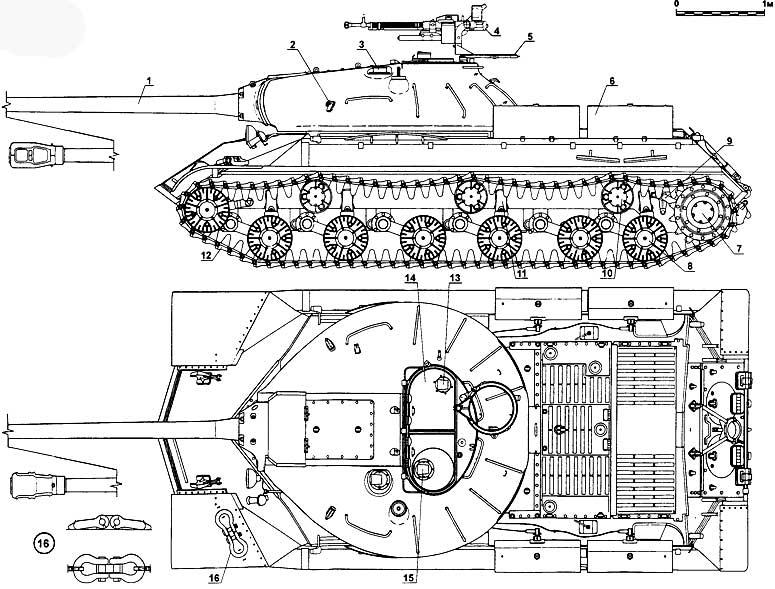Как сделать танк ис-3 из дерева