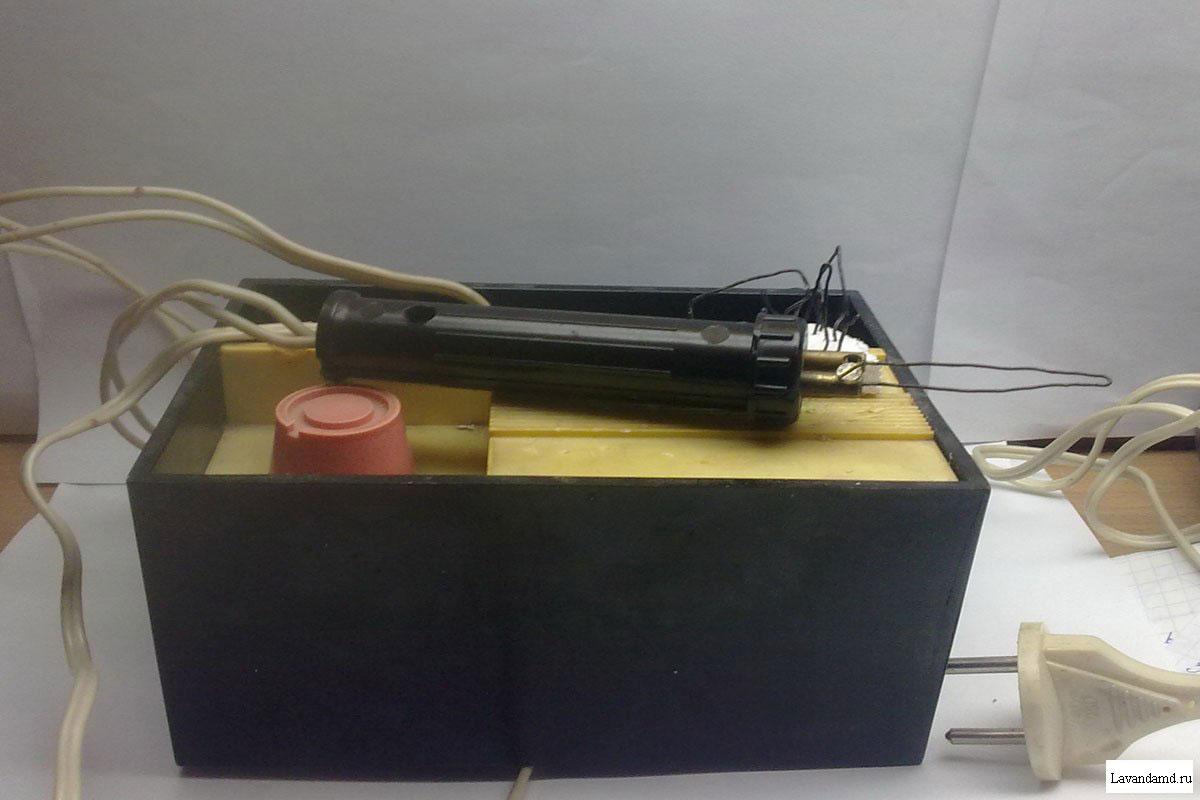 Коптилка электрическая своими руками 94