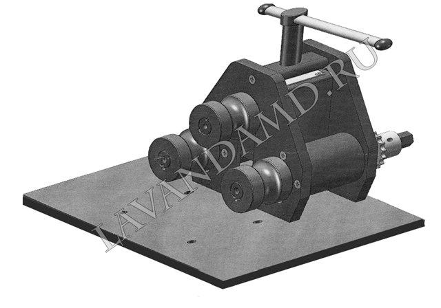 Самодельный трубогиб для трубы своими руками 71